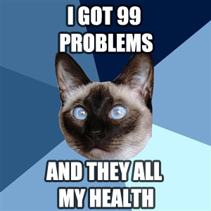 Oh chronic illness cat, you know me so well :/