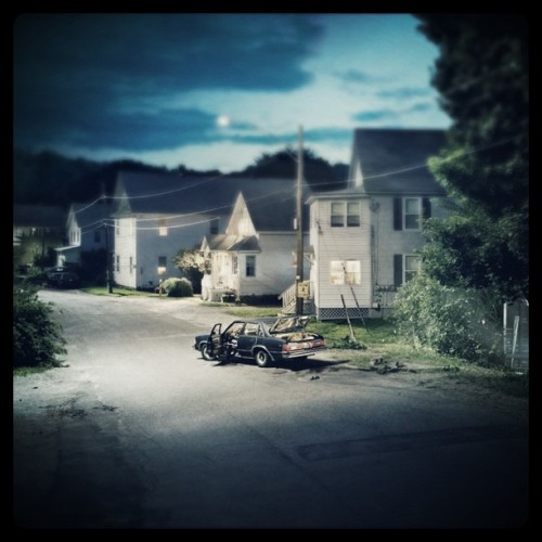 mastergram:  Gregory Crewdson - Untitled, 2001. Modified using instagram. View original version here.