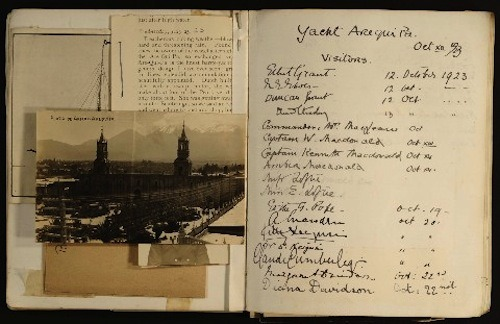 A page from Duncan Grant's scrapbook, Tate Archive (via)