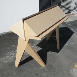 edgina:  Tangram Desk by Dominique Roger and Gatien Sépulchre