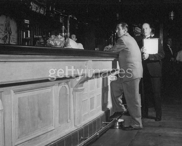 21's legendary standing-only bar, photographed here on New Years Day, 1944.