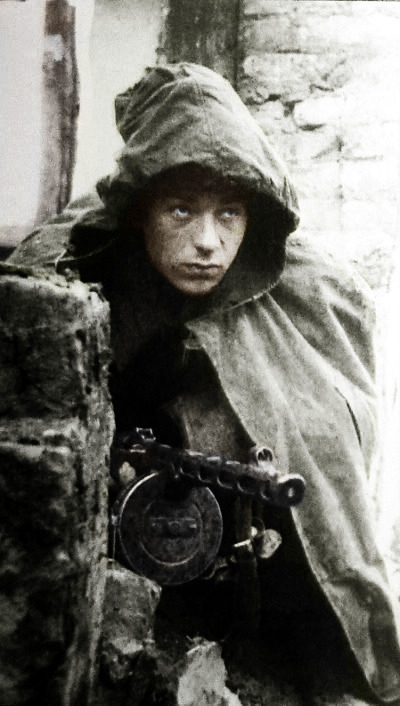 artificialhallucination:  Red Army soldier - WWII