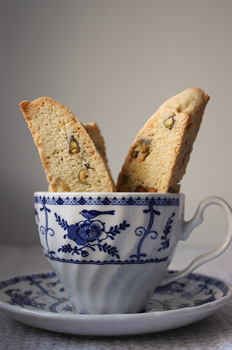 Lemon Pistachio Biscotti  Recipe link below photo