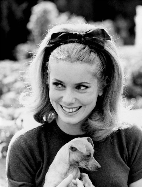 theswingingsixties:  Catherine Deneuve