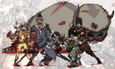 The Last Zombiebenders by *jmirman