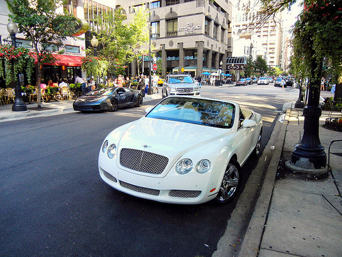 Poshville Starring: Bentley Continental (by Hertj94)