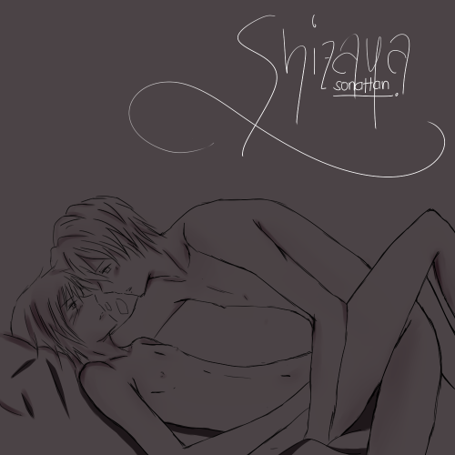 It's time I drew some Shizaya?