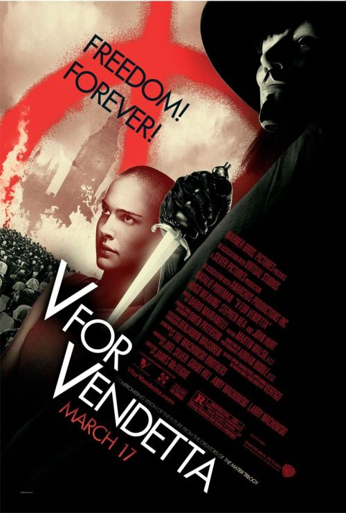fuckyeahmovieposters:  V for Vendetta
