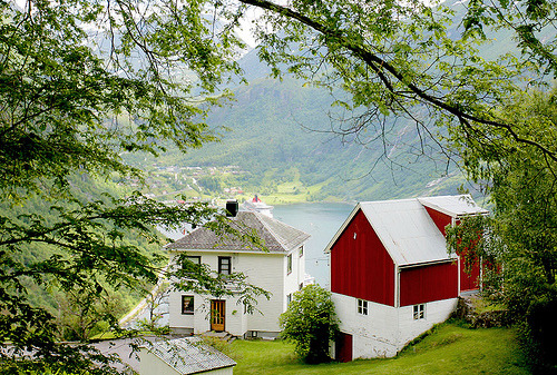 Farm with a view, Norway (by Helena Normark - Away)