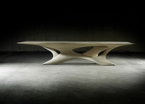 weandthecolor:  Erosion II Dining Table by Irish designer Joseph Walsh.  More interior design inspiration. posted byW.A.T.C. // Facebook // Twitter // Google+