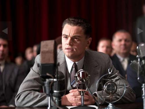 totalfilm:  Leonardo DiCaprio's J Edgar trailer online If this trailer's admissible as evidence, Leonardo DiCaprio looks set to finally bag a well-deserved Best Actor Oscar in 2012.  Whether he's appearing as a young or old J Edgar Hoover in this trailer for Clint Eastwood's long-awaited biopic, DiCaprio absolutely commands the screen.  And that's before we've even seen the bits where he puts on a dress.[TO SEE THE TRAILER, CLICK ON LEO OR FOLLOW THIS LINK]
