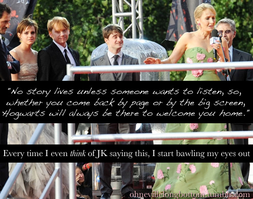 ohnevillelongbottom:  This is my Harry Potter confession. I'm sure others share the same sentiments.
