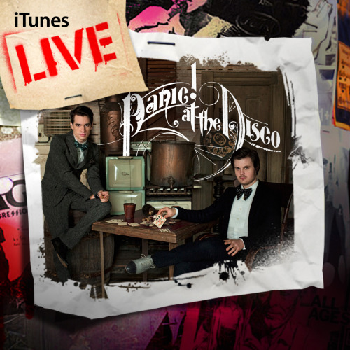 fueledbyramen:  Panic! At The Disco: iTunes Live EP Preorder Starting today you can preorder the Panic! At The Disco iTunes Live EP before it's available on September 27th. See the tracklisting below: 1. Ready To Go (Get Me Out of My Mind) [Live]2. But It's Better If You Do (Live)3. New Perspective (Live)4. Nine In the Afternoon (Live)5. The Calendar (Live)6. I Write Sins Not Tragedies (Live)