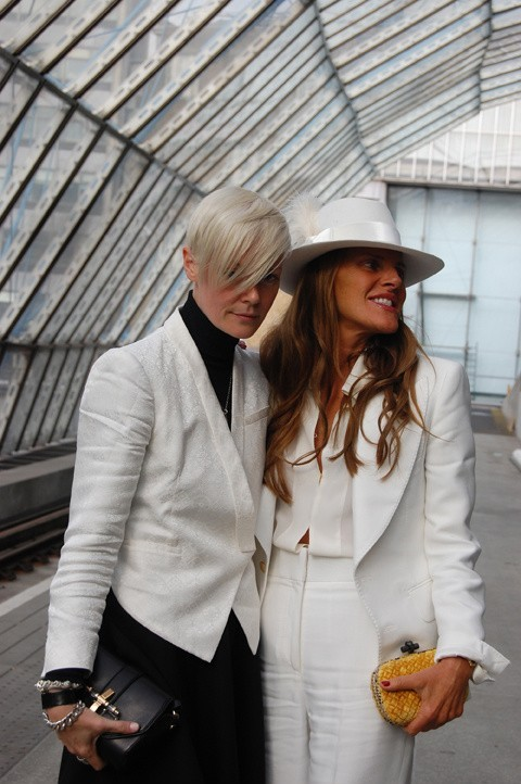 Kate Lanphear + Anna Dello Russo Yeah, this is pretty awesome.
