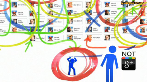 "collegehumor:  Not Google Plus- The World's First Antisocial Network ""The biggest revolution in social networking would be for there to be no more revolutions in social networking."""