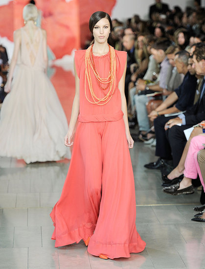 Coral delight - Tory Burch Spring 2012