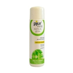 This just in: Pjur Repair Glide - a reparative water-based lubricant that moisturizes delicate tissues.