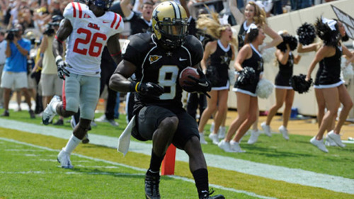SEC DEFENSIVE PLAYER OF THE WEEK TREY WILSON, DB, Vanderbilt Wilson intercepted two Ole Miss passes, returning one for a 52-yard touchdown, in the Commodores' 30-7 win over the Rebels. It was Wilson's second interception return for a touchdown this season (previous against Elon). Wilson's performance also included breaking up three other passes in the game. Vanderbilt held Ole Miss to 234 total offensive yards, including just 85 on the ground.  Ole Miss had 93 of its 149 passing yards in the fourth quarter. Wilson leads the SEC in interceptions (second nationally) and is tied for third in the SEC in passes defensed with four.