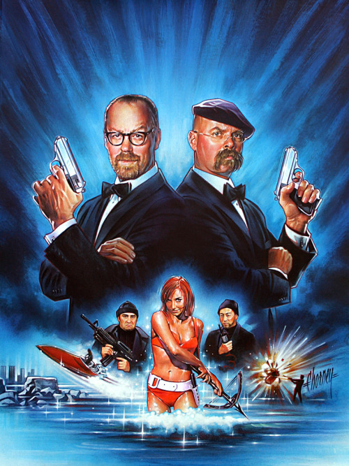 thegeek531:  Mythbusters- Bond Edition