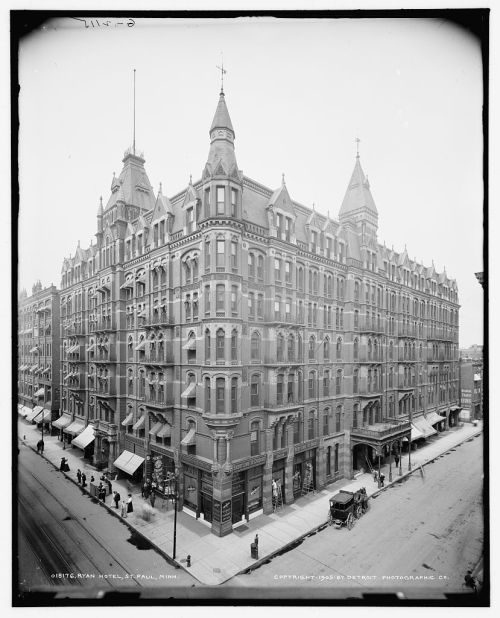 The Ryan Hotel, St. Paul, via archimaps