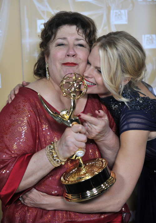 verysherry:  Margo Martindale and Joelle Carter | Fox and FX 2011 Emmy After Party
