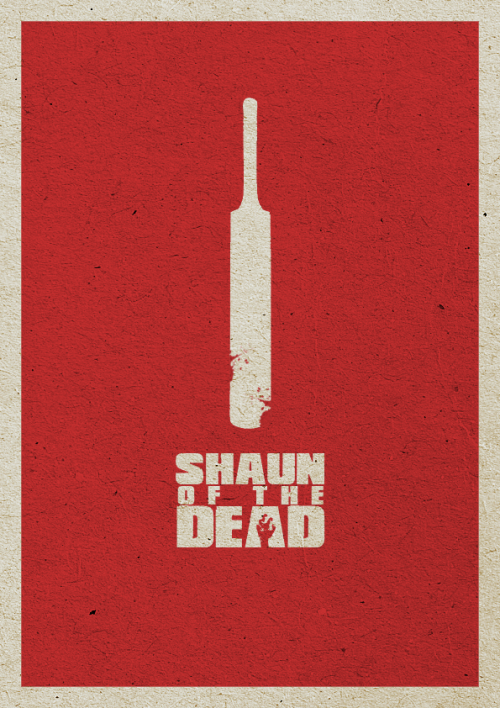 minimalmovieposters:  Shaun of the Dead by crkd