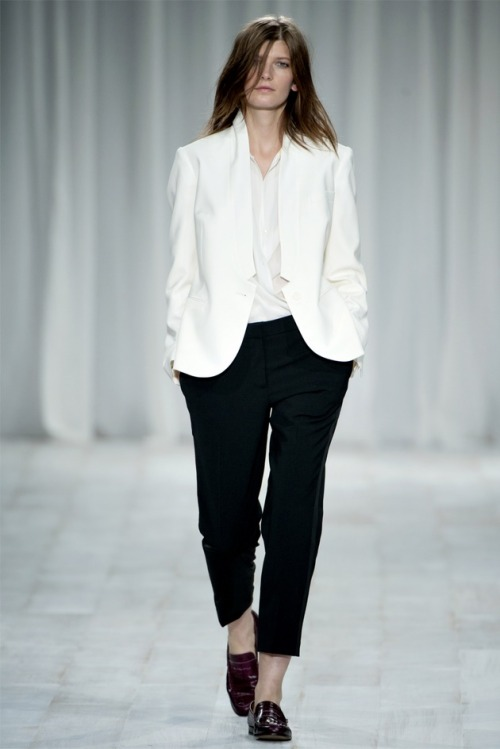 Paul Smith S/S 2012. Would love to dress like this every day for work.