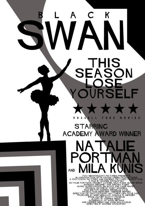 Black Swan by Russell Ford Movies