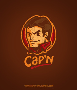 "midgerock:  winterartwork:  ""Cap'n!"" BUY HERE —> http://www.redbubble.com/people/winterartwork/t-shirts/7753239-capn   #firefly"