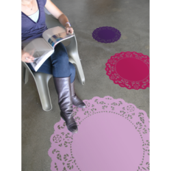 Floor Doily by BLIK Wall Graphics (via Fab.com)