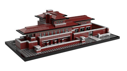 "Frank Lloyd Wright's Robie House Gets ""Rebuilt"" in LEGO LEGO Architecture has released their latest creation, a LEGO Frank Lloyd Wright 1908  Robie House, one of Wright's most famous prairie-style homes located in  Chicago's Hyde Park. The LEGO version was designed by architectural  artist Adam Reed Tucker and is made up of 2,276 pieces. For $199, the  kit comes with step-by-step instructions that include historical  information about the iconic structure and architect. Each LEGO  Architecture set contains a booklet featuring step-by-step building  instructions that is prefaced by exclusive, archival history,  information and photographs of each iconic building, its design origin,  its architect and its architectural features. You can buy one soon at LEGO.com."
