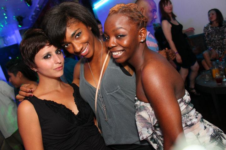 My girls on our night out at Ultrabar this past Saturday.