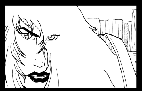 Panel from the next Dark Bane webcomic.