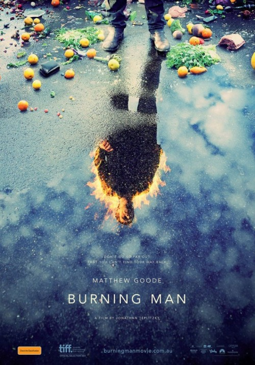 Burning Man Poster by Jeremy Saunders