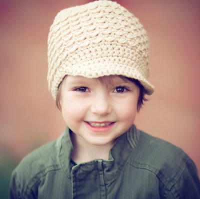 boutiquevintage72:  (via Nougat Newsboy Hat Tan Classic Boys Cap Textured by myhobbyshop)