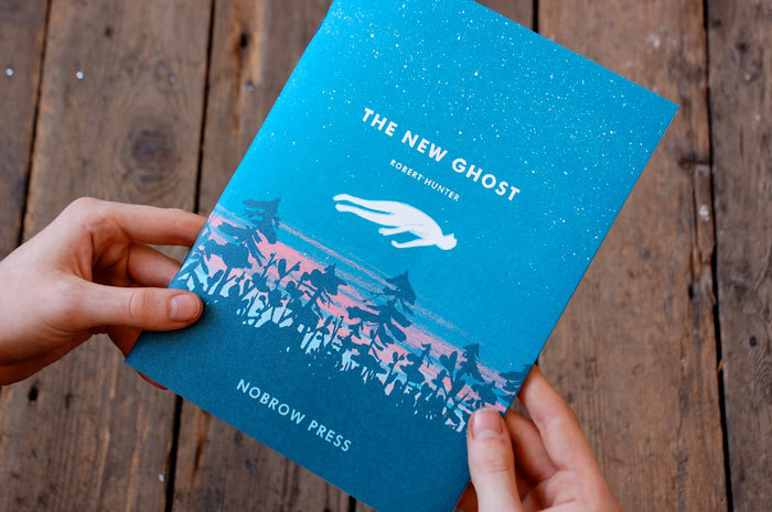 "I just had a chance to read over The New Ghost and it's incredibly charming. It's part of No Brow Press' 17X23 graphic short story project. ""17X23 is a new graphic short story project designed to help talented young graphic novelists tell their stories in a manageable and economic format. The hope is that, while the series encourages artists to write one-off stories, 17X23 can act as a springboard for more ambitious projects."""