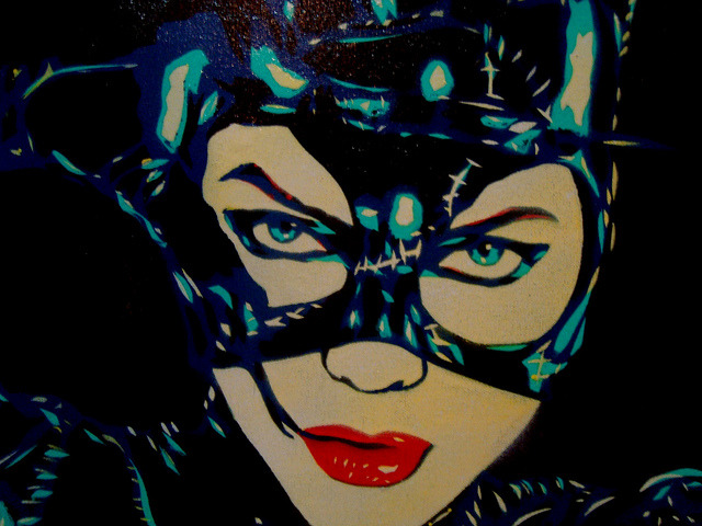 Cris Gommes. Cat Woman - Michelle Pfeiffer.