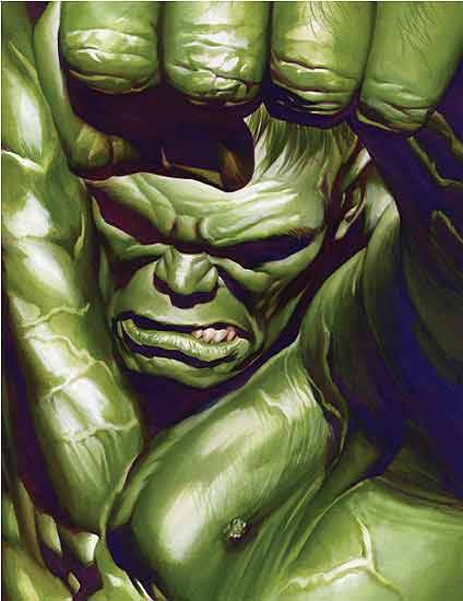 demonsee:  Hulk by Alex Ross