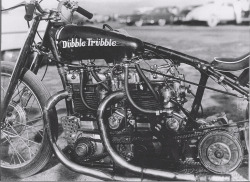 DUBBLE TRUBBLE TRIUMPH DRAGSTER | BRITISH HYBRID HELL ON WHEELS Read more…