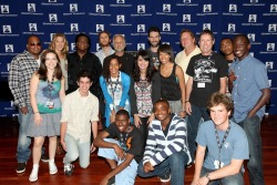 cassienegronmusic:  GRAMMY Camp with Adam Levine, Colbie Caillat, Neil Portnow and Hot Topic. Yeah thats me by Adam Levine… ;) phantomeatsworld:  Almost forgot about this picture it turned up in google images when I searched Hot Topic psh go me haha    There I am in front of Adam Levine. Thanks for the memories <3 Summer of '10 was fantastic. Same for '08 and '09.