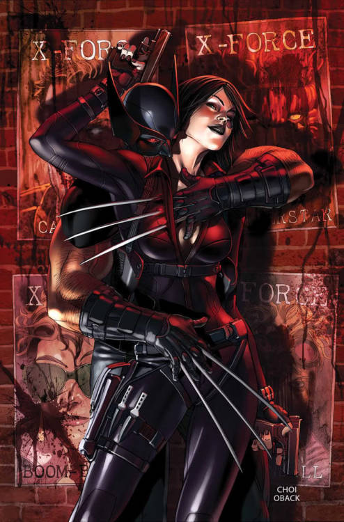 demonsee:  Wolverine and Domino