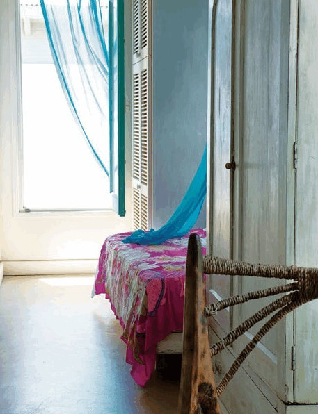 My Bohemian Home Source: Elle Spain