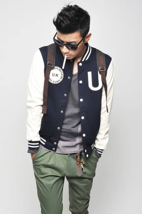 thetieguy:  this varsity jacket would be way better without the embroidering on both sides.