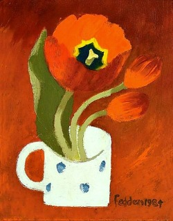 stilllifequickheart:  Mary Fedden Poppy 1984