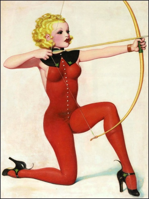 vintagegal:  art by Enoch Bolles 1937