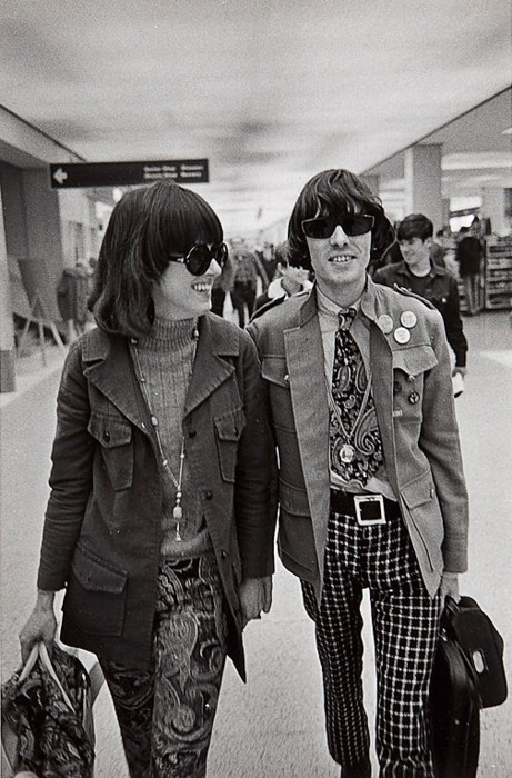 Grace Slick & Spencer Dryden, 1967.