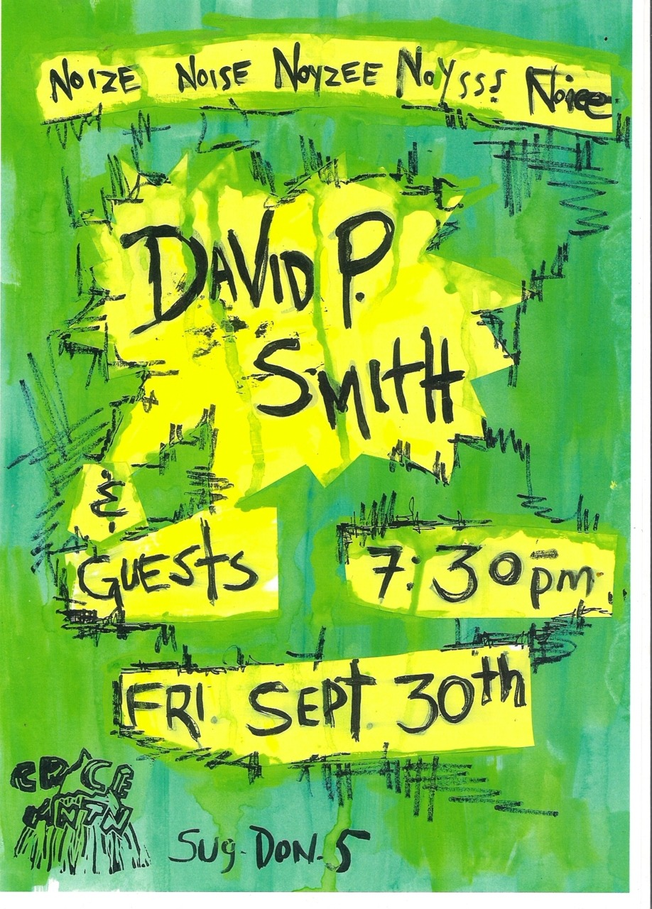 Time to Party with Class!!!! September 30th - 7:30pm David P. Smith & Special Guests Crace is back!!!