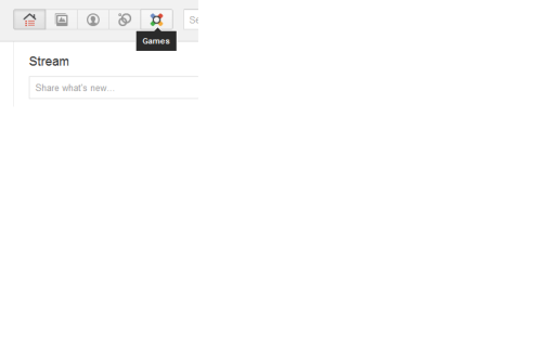 Did I miss something? It looks like Games are on Google+ already?