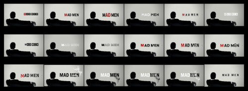 Mad Men logo explorations by Imaginary Forces