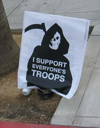 I support everyone's troops  画